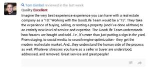 Tom Gimble Google Review